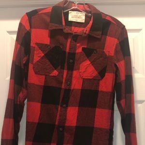 Boys flannel top